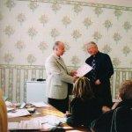 Сертификат соответствия об окончании обучения в Академии вручается врачу Алексееву Алексею Борисовичу (г. Ангарск).