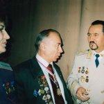 Академик, Профессор Трубицын А. А. и Академик, Профессор Игнатенко Альберт Венедиктович (Прага) 2005 г. г. Москва 1й съезд Элиты России, январь.