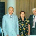Академик Трубицын А. А. и лауреаты Почетного Знака на конференции в г. Челябинске 2006 г.