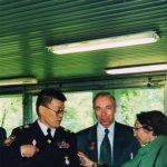 <div>Форум Целителей г. Москва 2000 г.<br />Генерал Ким А. К. и академик Трубицын А. А.</div>